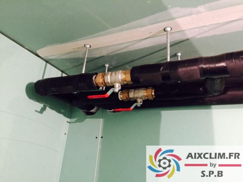 Installation pompe à chaleur Calas