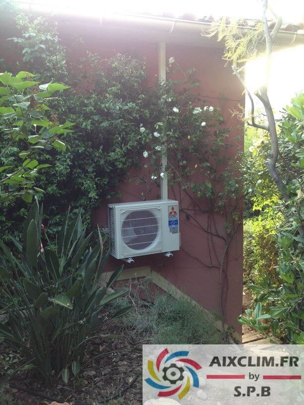Pose climatisation Mitsubishi Aix en Provence