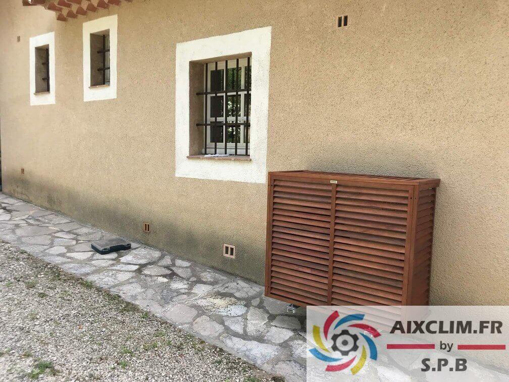 Cache Groupe Climatisation Aix En Provence