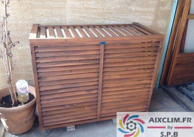 Installation cache climatisation à Gardanne