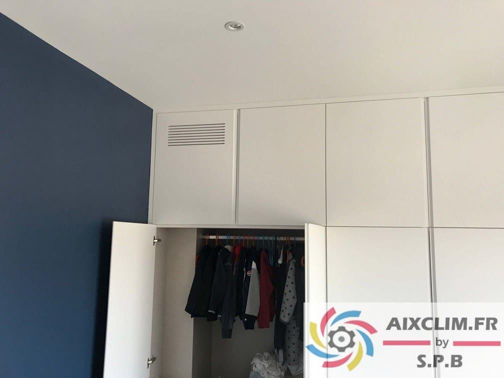 Installation climatisation à Puyricard