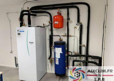 Installation pompe à chaleur à Meyreuil