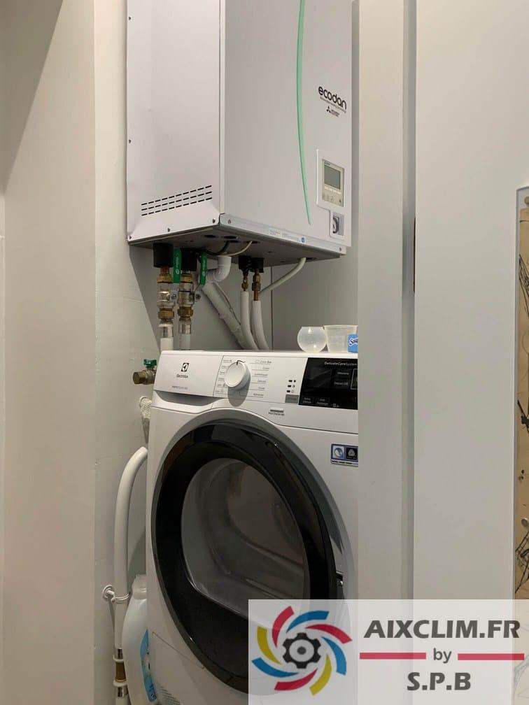 Installateur pompe à chaleur Mitsubishi Marseille