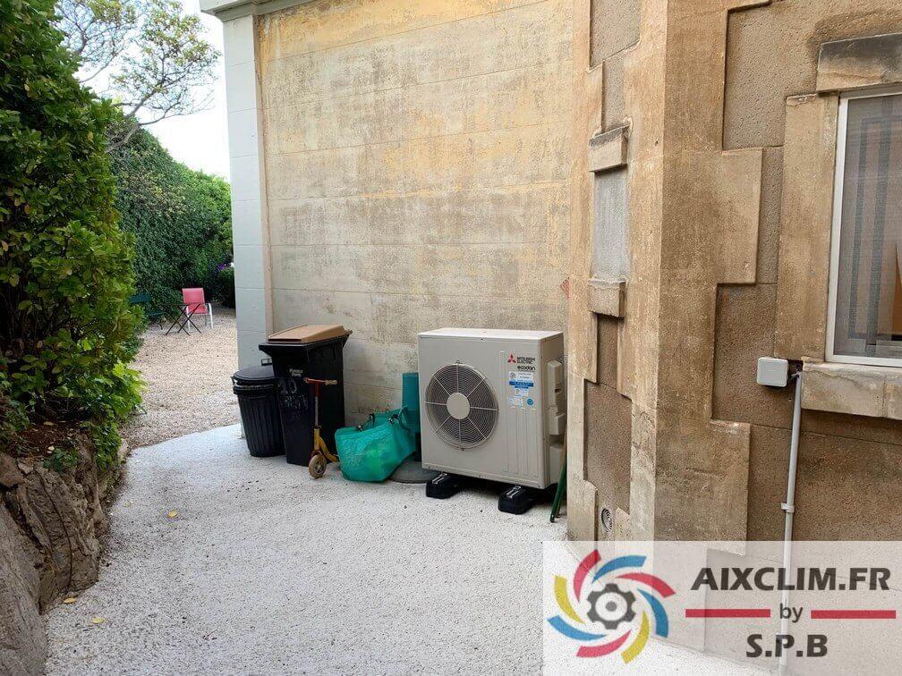 Installation pompe à chaleur Mitsubishi Marseille