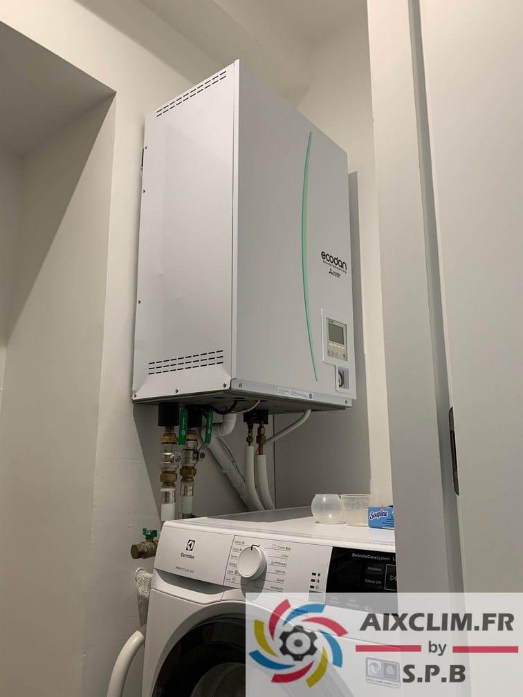Pose pompe à chaleur Mitsubishi Marseille