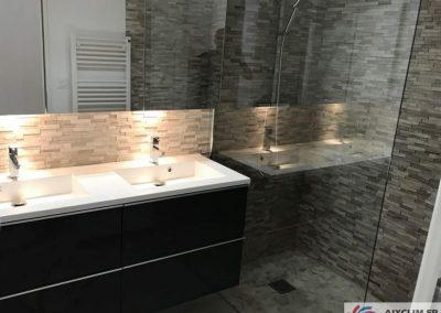 Installation salle de bain à Aix les Milles