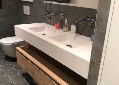 Installation salle de bain et plomberie à Puyricard