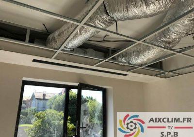 Installation climatisation bureau à Aix en Provence